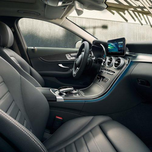 Mykonos Transfers Mercedes C-Class Sedan interior