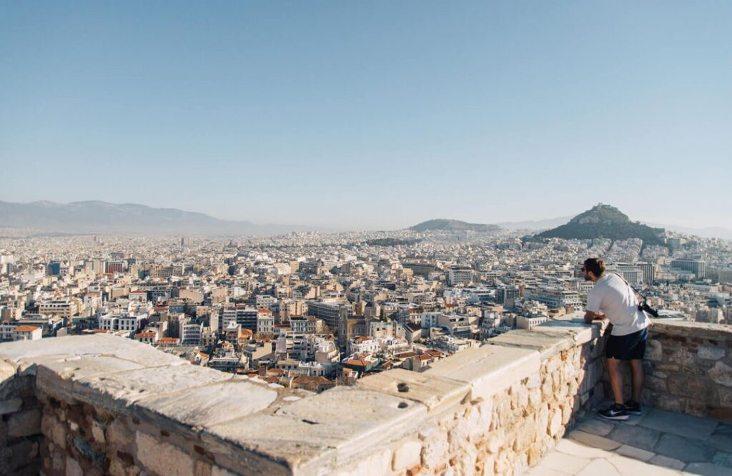 What to do in Athens in Autumn | Athens Transfer | SPOILED Mykonos Transfers  | athens, athens guide, athens transfer, autumn trip athens, tips | What to do in Athens in Autumn | Athens Transfer | podcast banner acropolis hill TGR | SPOILED Mykonos Transfers | Mykonos Transfer | Athens Transfer